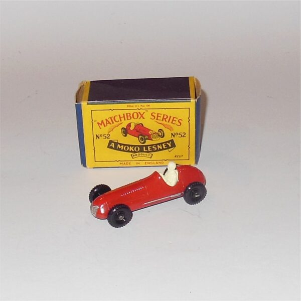 Matchbox Lesney 52a Maserati Red