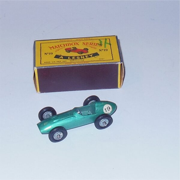 Matchbox Lesney 19c Aston Martin Racing Car
