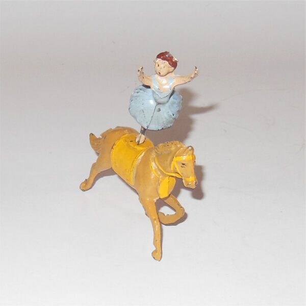 Charbens Circus Performing Horse Ballerina Act 54mm