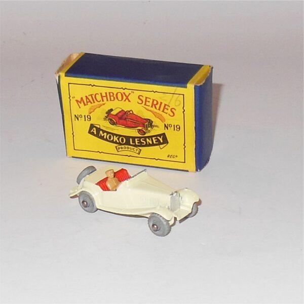Matchbox Lesney 19a MG TD Coupe