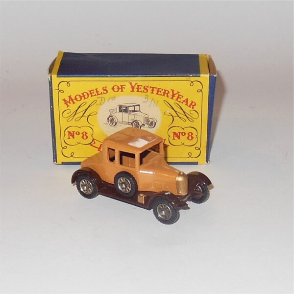 Matchbox Lesney Yesteryear 8a Morris Cowley Bullnose 1926