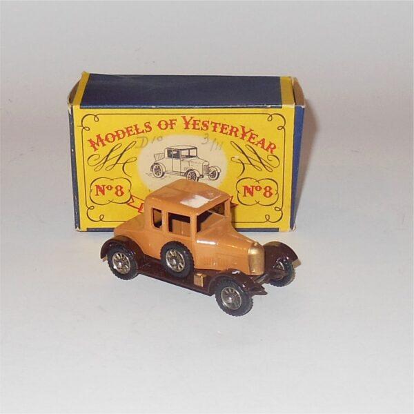 Matchbox Lesney Yesteryear 8a Morris Cowley Bullnose 1926