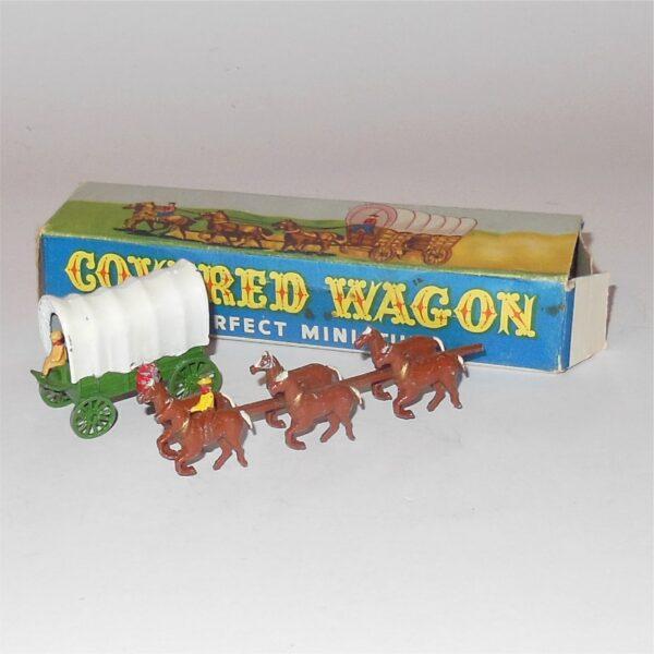 Matchbox Lesney Moko Conestoga Covered Wagon Red Barrels