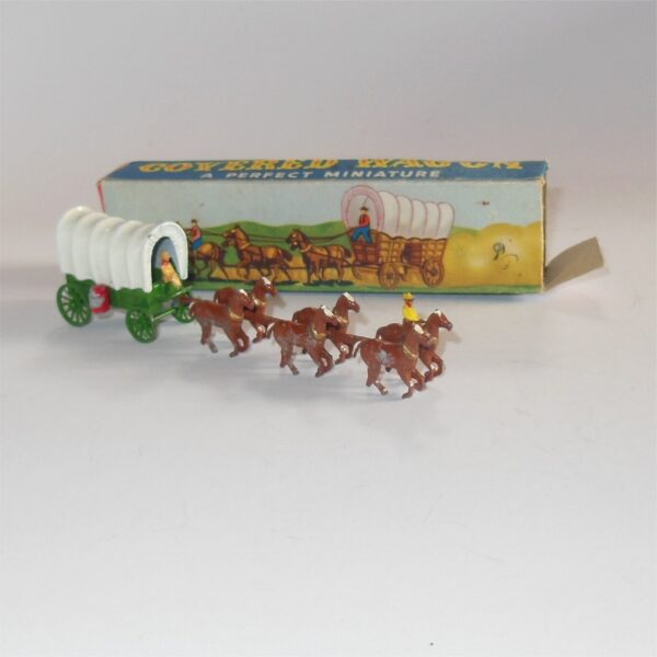 Matchbox Lesney Moko Conestoga Covered Wagon Red Barrels