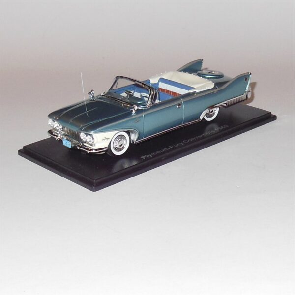 Neo 44693 Plymouth Fury Convertible 1960