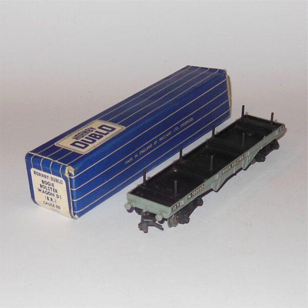 Hornby Dublo 32051 Bogie Bolster Wagon M720550 BR