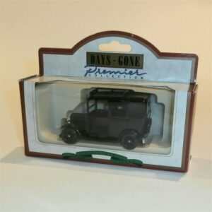 Lledo Days Gone 47001 1933 Austin Taxi Black