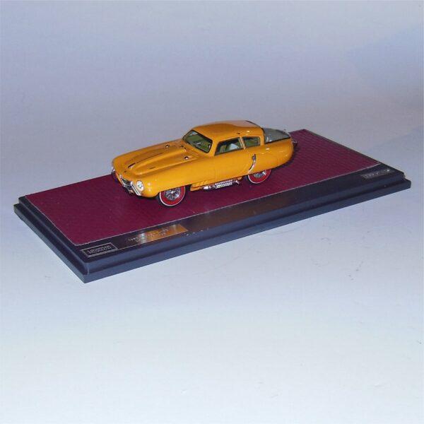 Matrix MXLM03-1608 Pegaso Z102 PS 2.5 Cupola Coupe Yellow 1953