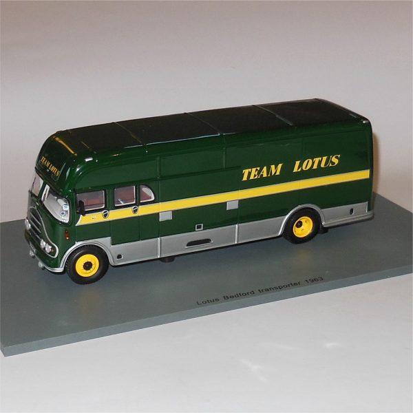 Spark Bedford Team Lotus Transporter
