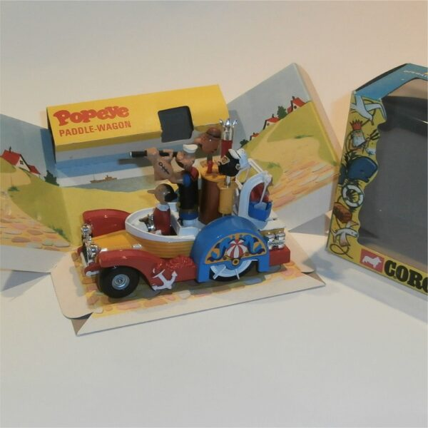 Corgi Toys 802 Popeye Paddle Wagon Mint Boxed c1970