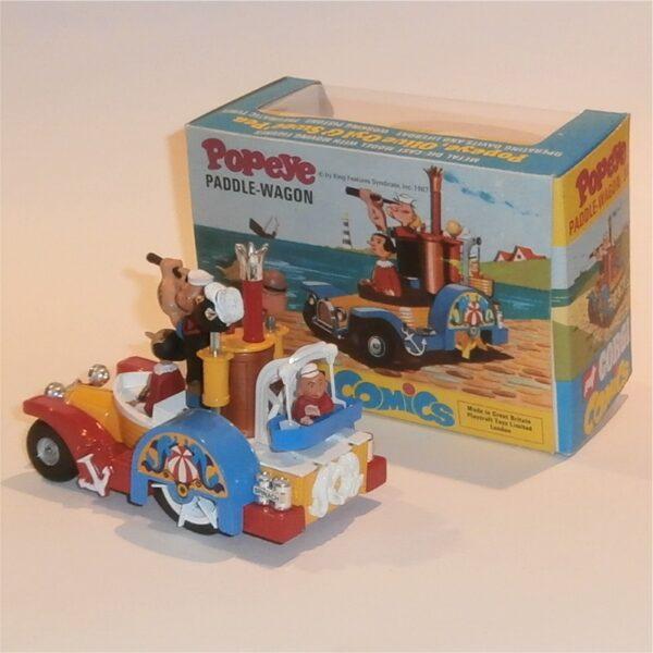 Corgi Toys 802 Popeye Paddle Wagon Mint Boxed c1970