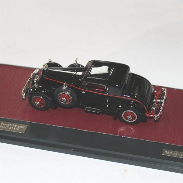 Matrix MX41804-051 Stutz M Supercharged Lancefield Coupe 1930 Black