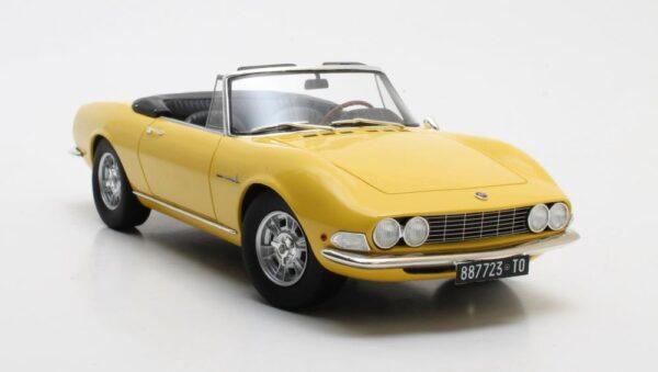 Cult Models Fiat Dino Spyder Yellow 1966