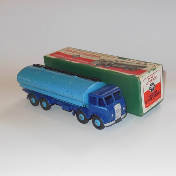 Dinky Toys 504 Foden 14-Ton Tanker Blue c1950