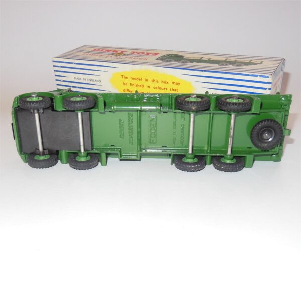 Dinky Toys 905 Foden Flat Truck with Chains Green c1957