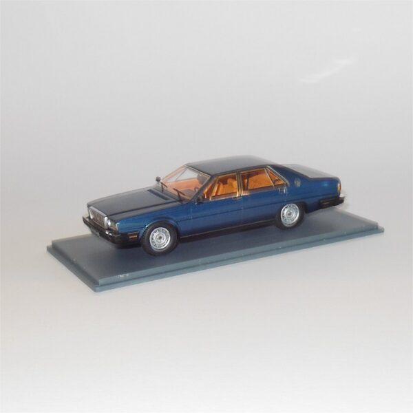 Neo Scale Models Maserati Quattroporte Royale III Blue 44565