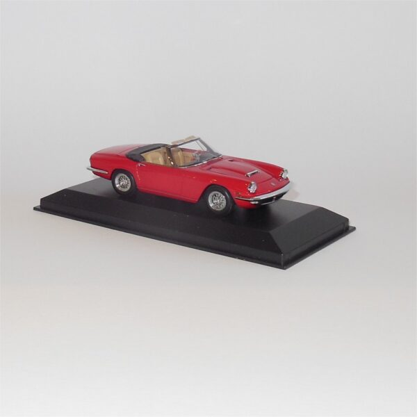 Minichamps Maserati Mistral Spyder Coupe Open Red 123430