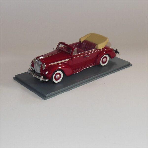 Neo Model 43196 Opel Admiral Cabrio Red