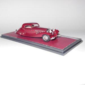 Matrix Model MX41302-171 Mercedes Benz Model 540K Spezial Coupe Red