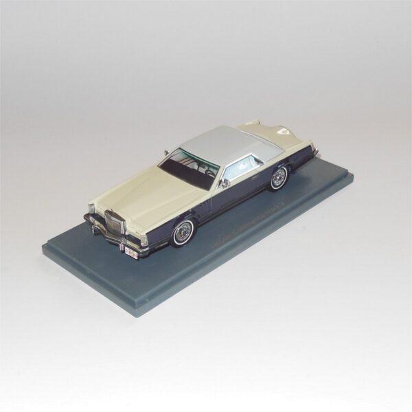 Neo Model 43552 Lincoln Continental Mark V Cream Brown