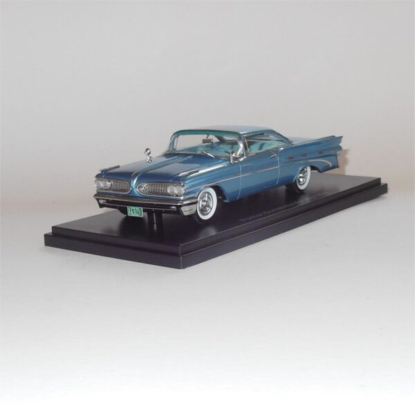 Neo Model 46076 Pontiac Bonneville Hardtop 1959 Blue Metallic