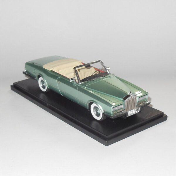 Neo Model 46485 Rolls Royce Phantom VI Frua Drophead Coupe 1971 Metallic Green