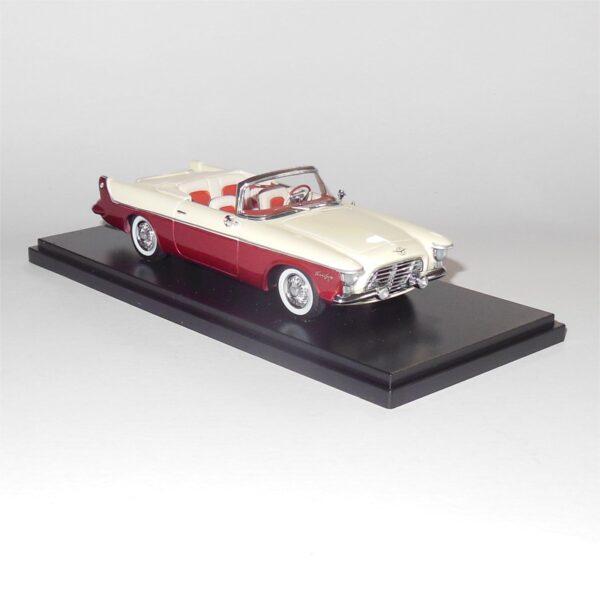 Neo Model 46590 Chrysler Flight Sweep 1 1955 White Red