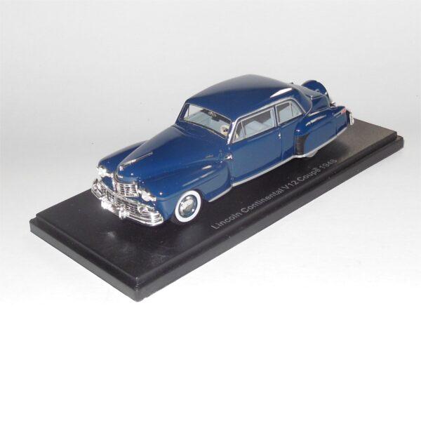 Neo Model 47010 Lincoln Continental V12 Coupe 1948 Dark Blue
