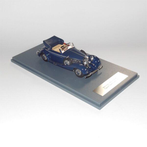 Neo Model 46165 Mercedes Benz 540K Type A Open Cabriolet Dark Blue