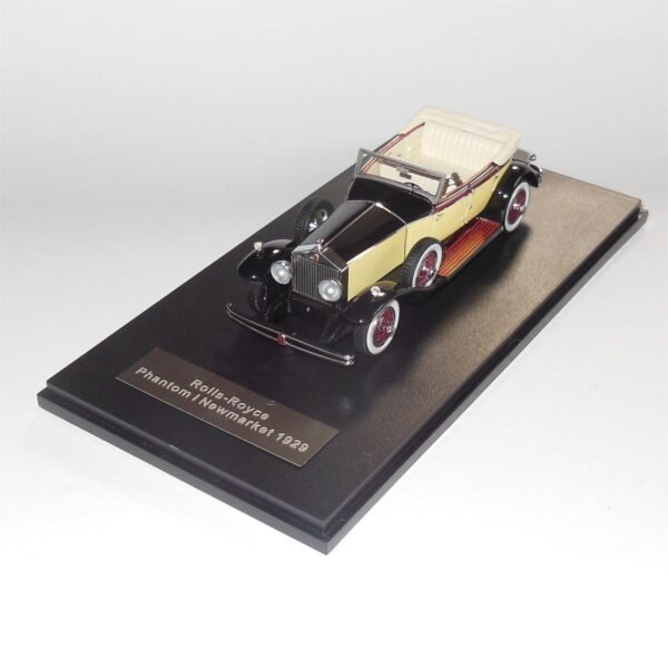 Neo Model 46510 Rolls Royce Phantom 1 Newmarket 1929 Black Yellow