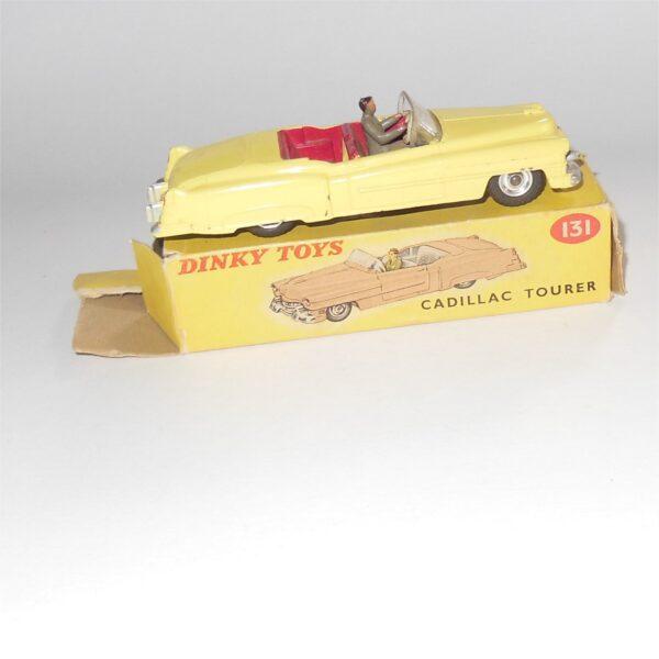 Dinky Toys 131 Cadillac Tourer Eldorado Yellow