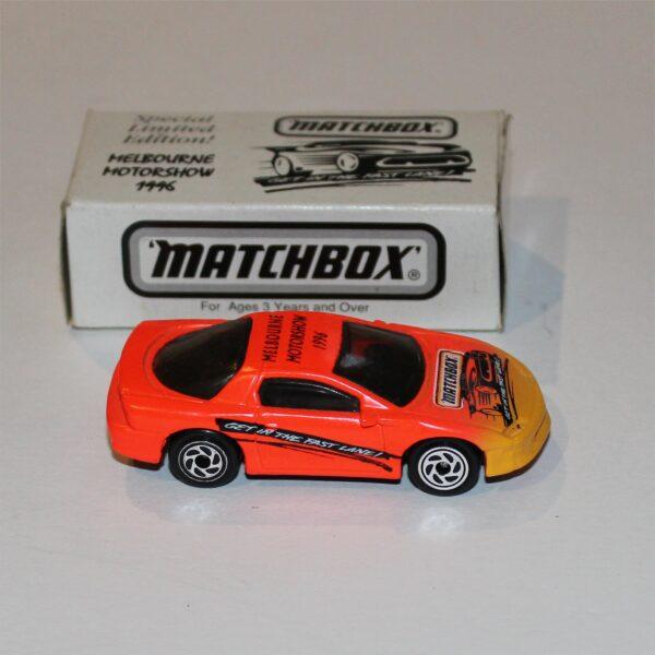 Matchbox Chevrolet Camaro Melbourne Motor Show 1996