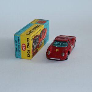 Corgi Toys  314 Ferrari Berlinetta 250 Le Mans