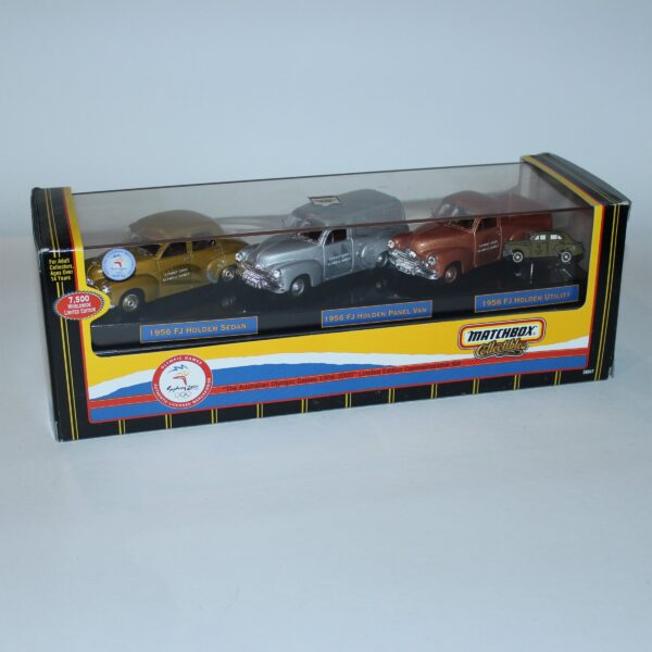 Matchbox 2000 Olympic Holdens Set of 3 Limited Edition