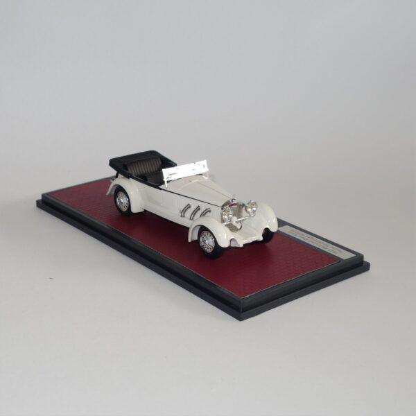Matrix 51302-151 Mercedes Benz 680S Tourer Sindelfingen 35255 Open 1927 White