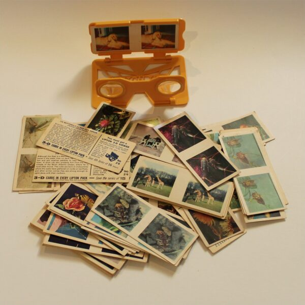 Lipton Tea 3D Picture Card Viewer with Cards