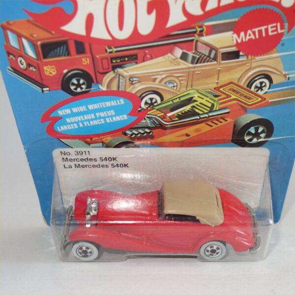 Mattel Hotwheels No 3911 Mercedes 540K