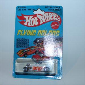 Hotwheels 1979 Flying Colors Street Rodder White #9242 MoC
