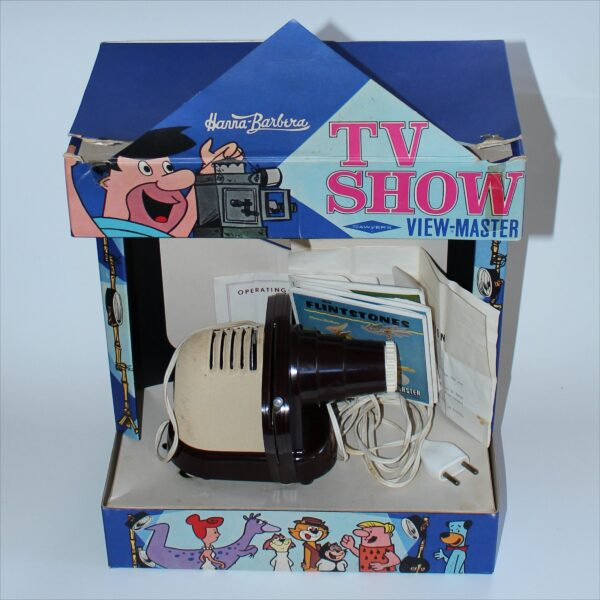 Sawyers View-Master Hanna-Barbera TV Show Boxed Projector Set