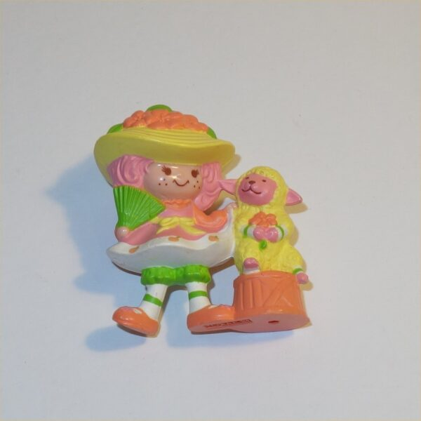 """Strawberry Shortcake: Crepe Suzette with Stack of Crepes approximately 2"""" tall PVC Plastic Toy Figurine"""