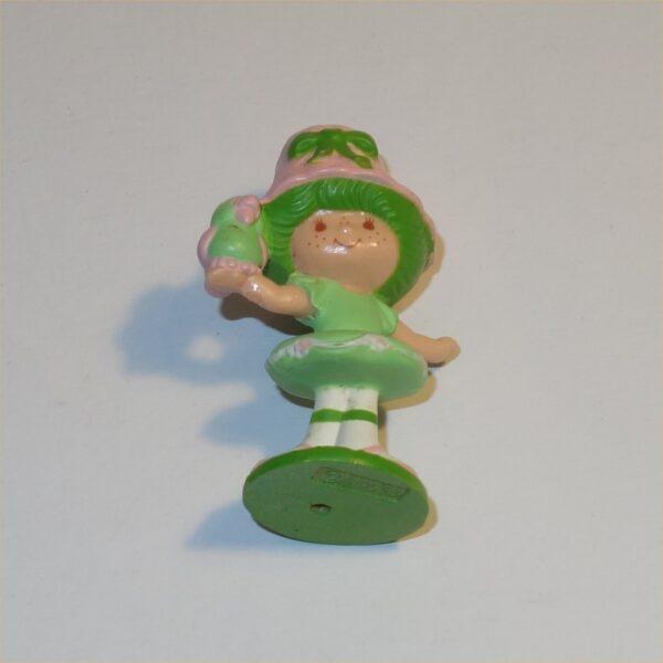 Strawberry Shortcake 1983 Lime Chiffon & Parfait Parrot PVC Figurine