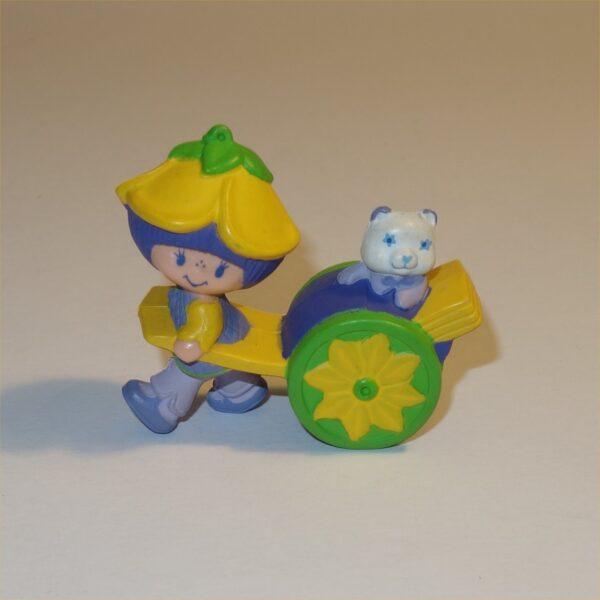 Strawberry Shortcake 1983 Almond Tea with Marza Panda PVC Figurine