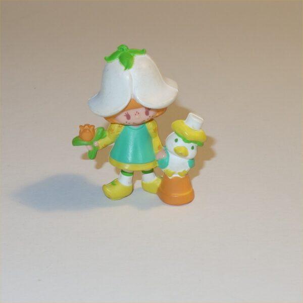 Strawberry Shortcake 1983 Mint Tulip with Marsh Mallard PVC Figurine