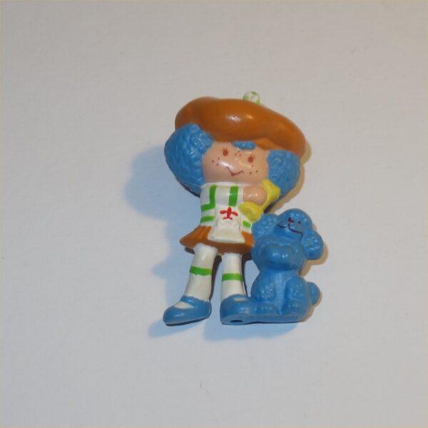 Strawberry Shortcake 1983 Crepe Suzette & Eclair PVC Figurine