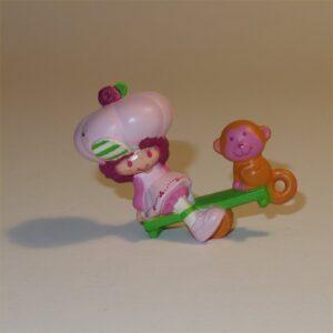 Stawberry Shortcake 1983 Raspberry Tart with Rhubarb PVC Figurine