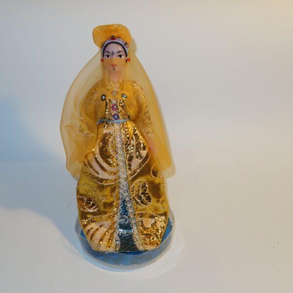 Plastic Habiba Doll in Costume c1970