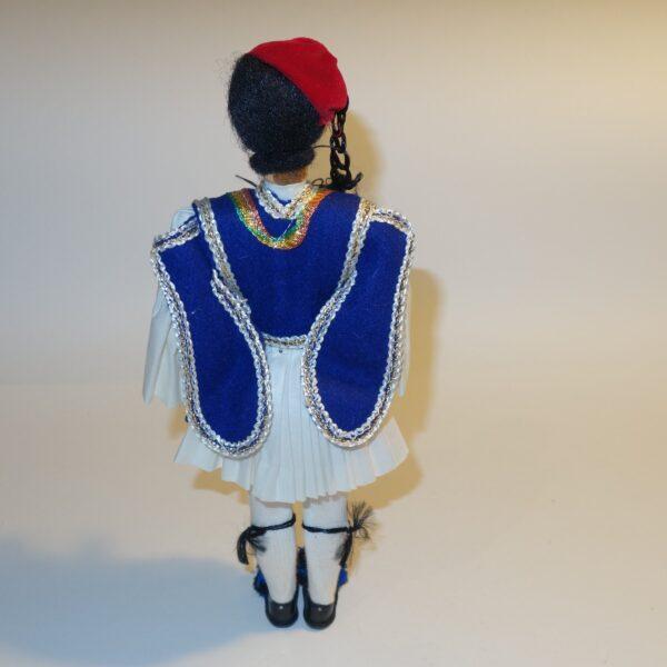 Plastic Male Doll in Greek National Costume c1970