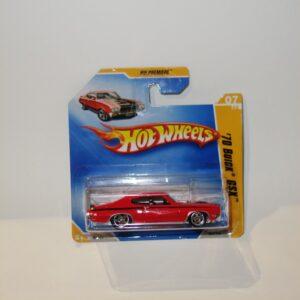 Hotwheels 2009 #007 '70 Buick GSX