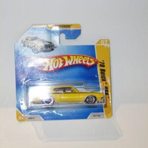 Hotwheels 2009 #007 '70 Buick GSX Yellow