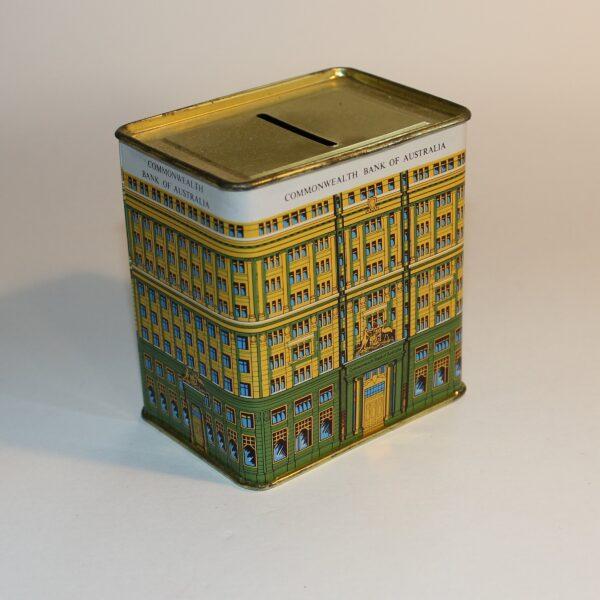 Commonwealth Bank Australia Money Box Savings Tin